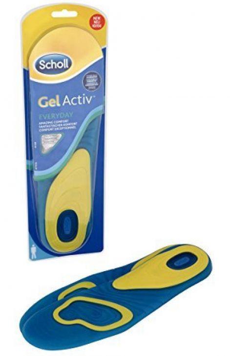 Scholl GelActive Everyday гелевые стельки для обуви Мужские 42-48