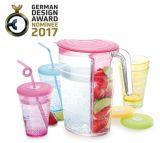Tescoma Кувшин 2,5 л и 4 стакана с крышками myDRINK 308802