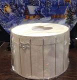Шкатулка деревянная + 5 салфеток 30х30